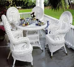 Ажурные мотивы плетеной мебели
