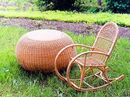 Плетеная мебель снова в моде