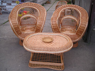 Лучшая плетеная мебель