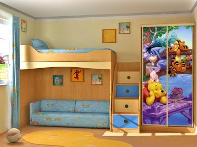 Хорошая детская - это хорошо обставленная детская комната