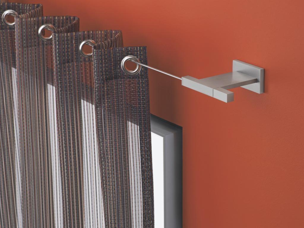 Карнизы для штор настенные металлические: фото, разновидност.