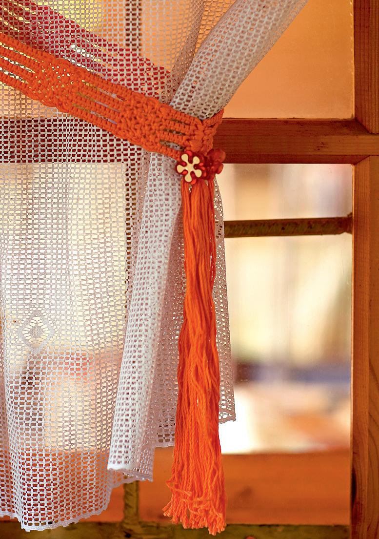 Подвяз для шторы своими руками