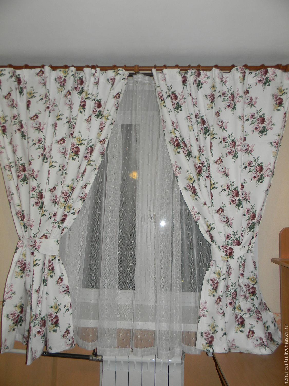 каталог шторы на кухню фото