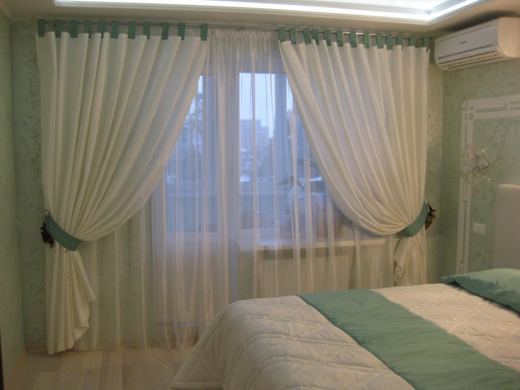 Фото идей тюль и шторы 97