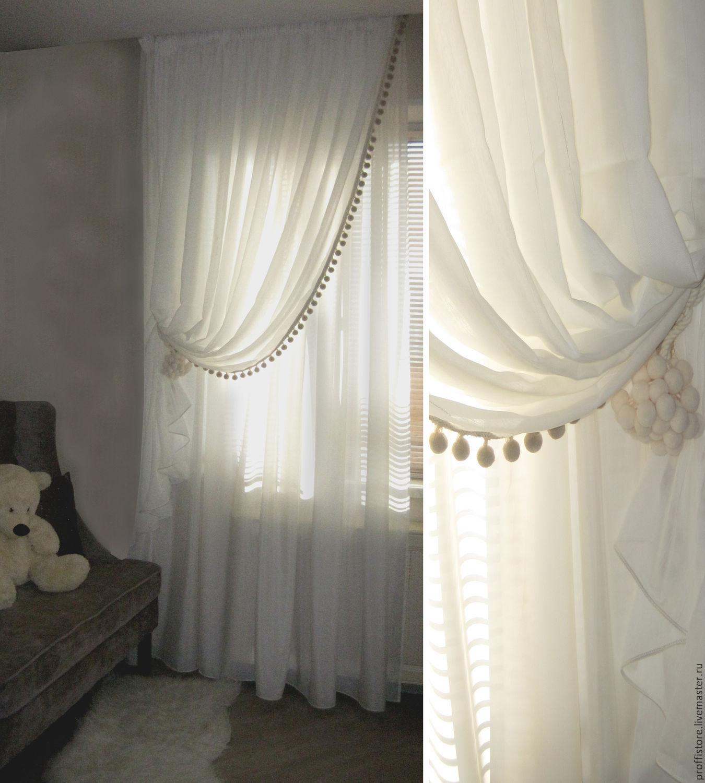 Фото идей тюль и шторы 80