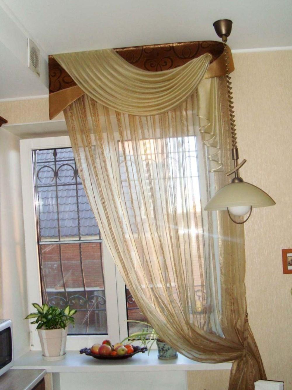Короткие шторы идеи фото