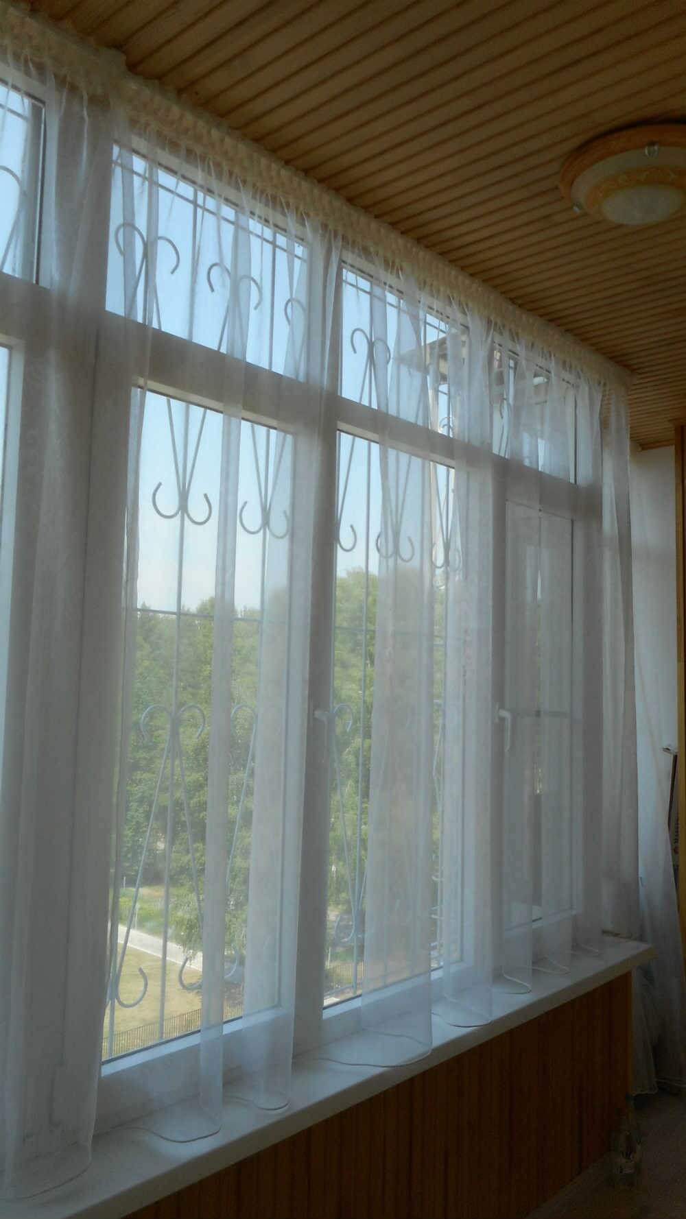 Тюль своими руками: 107 фото занавесок для кухни и разных ко.