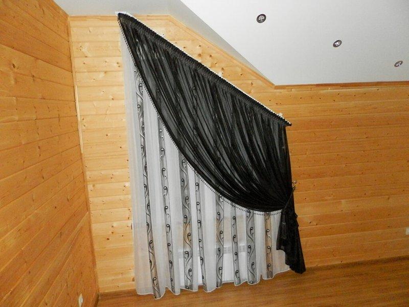 Шторы в прихожую - 50 фото идей и новинок современных штор