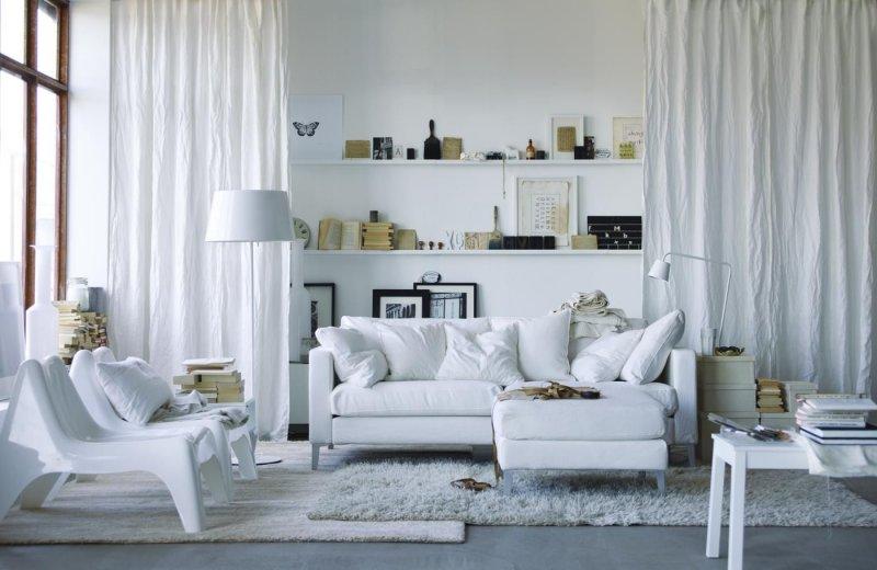Выбор уютных домашних штор для оконных проемов - 50 фото идей