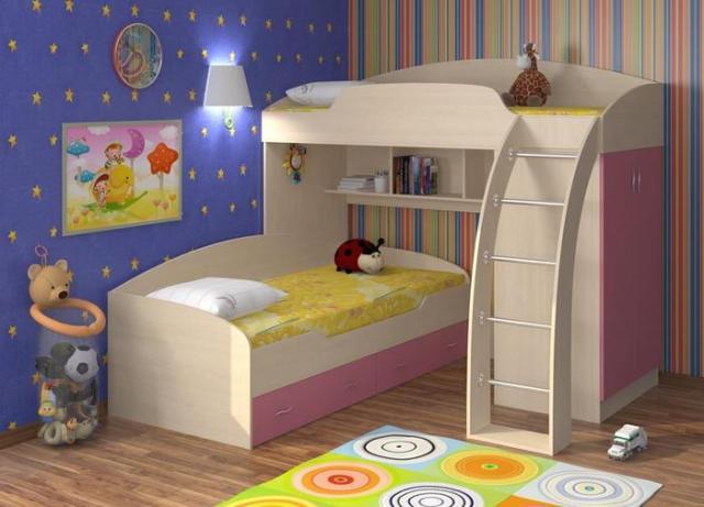 Качественная и недорогая мебель для детской