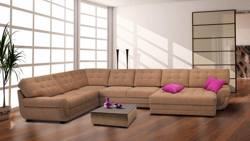 Незамысловатый выбор мягкой мебели