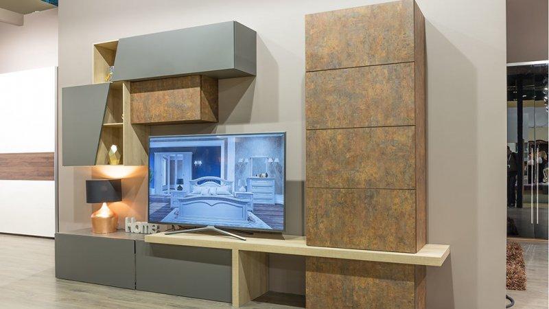 Новинки гостиных комнат с современным и классическим дизайном